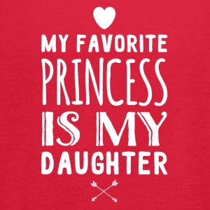 My favorite princess is my daughter - Women's Flowy Tank Top by Bella