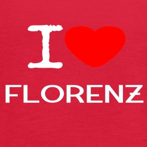 I LOVE FLORENZ - Women's Flowy Tank Top by Bella