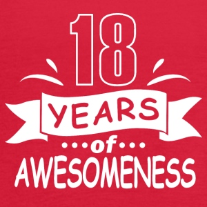 18 years of awesomeness - Women's Flowy Tank Top by Bella