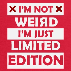 I'm not weird I'm just limited edition - Women's Flowy Tank Top by Bella