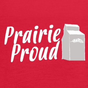 Prairie Proud White - Women's Flowy Tank Top by Bella