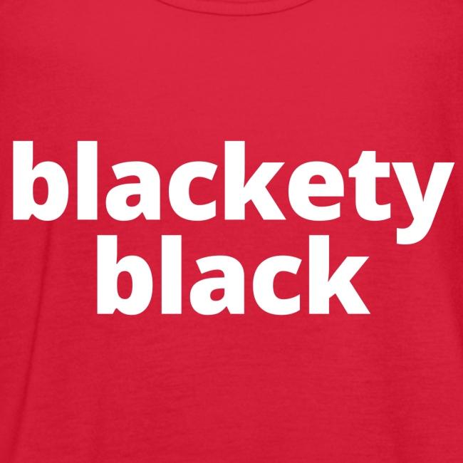 "Women's ""Blackety Black"" Hoodie"