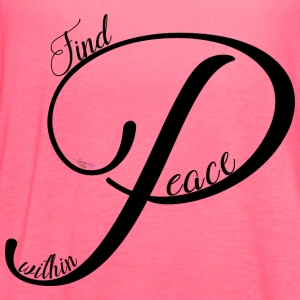 Peace - Women's Flowy Tank Top by Bella