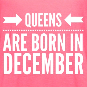 Queens Born December - Women's Flowy Tank Top by Bella