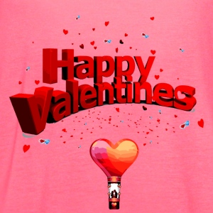 valentines_day - Women's Flowy Tank Top by Bella