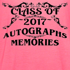 Class of 2017 Autographs and Memories Keepsake Tee - Women's Flowy Tank Top by Bella