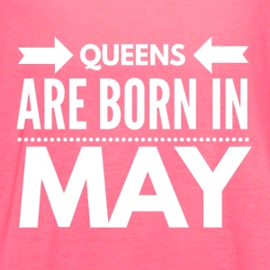Queens Born May - Women's Flowy Tank Top by Bella