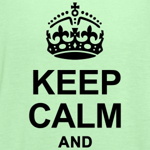 KEEP CALM - Women's Flowy Tank Top by Bella