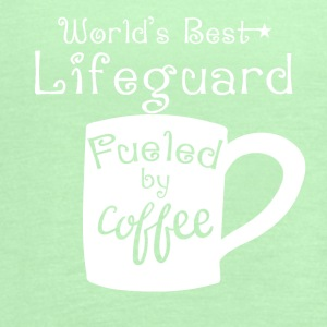 World's Best Lifeguard Fueled By Coffee - Women's Flowy Tank Top by Bella