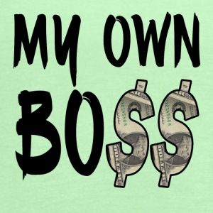 My Own Bo$$ - Women's Flowy Tank Top by Bella