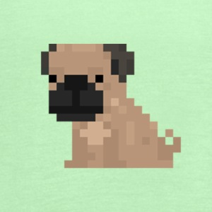 Pixel Pug - Women's Flowy Tank Top by Bella