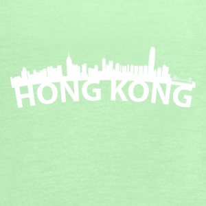 Arc Skyline Of Hong Kong China - Women's Flowy Tank Top by Bella