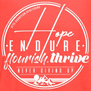 Hope Endure - Women's Flowy Tank Top by Bella