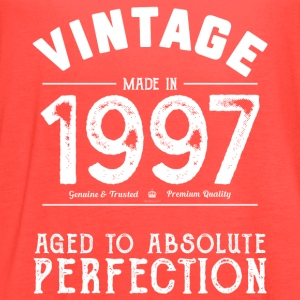 1997 Aged To Perfection: 20th Birthday Present - Women's Flowy Tank Top by Bella