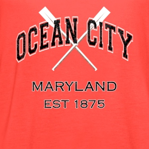 Ocean City Maryland Established 1875 - Women's Flowy Tank Top by Bella