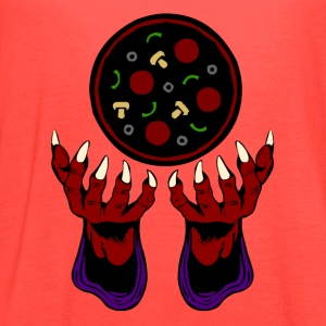 Pizza Demon - Summoner of Deliciousness - Women's Flowy Tank Top by Bella