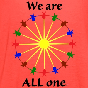 We are ALL One - Women's Flowy Tank Top by Bella