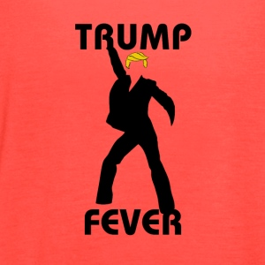 TRUMP FEVER - Women's Flowy Tank Top by Bella