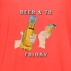 Beer & TQ Friday - Women's Flowy Tank Top by Bella