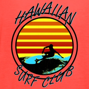 Hawaiian Surf Club - Women's Flowy Tank Top by Bella