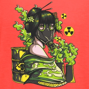 Nuclear mask - Women's Flowy Tank Top by Bella