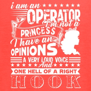 Operator Tee Shirt - Women's Flowy Tank Top by Bella