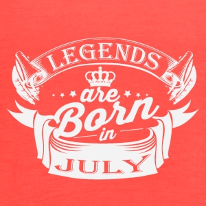 Legends are born in July - Women's Flowy Tank Top by Bella