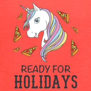 Ready for holidays Unicorn - Women's Flowy Tank Top by Bella
