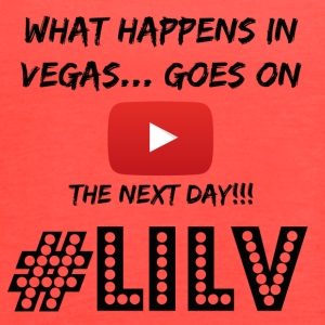Happens in Vegas Goes on Youtube Black - Women's Flowy Tank Top by Bella