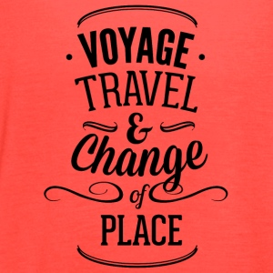 voyage_travel_ans_chnange_the_place-01 - Women's Flowy Tank Top by Bella