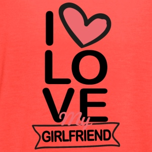 I love my Girlfriend - Women's Flowy Tank Top by Bella