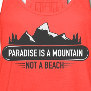 MOUNTAIN PARADISE - Women's Flowy Tank Top by Bella