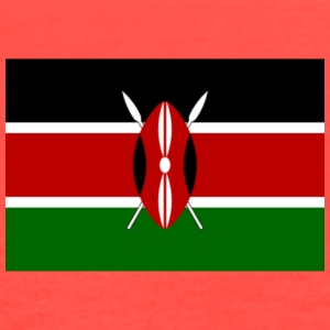 kenyan flag graphic - Women's Flowy Tank Top by Bella