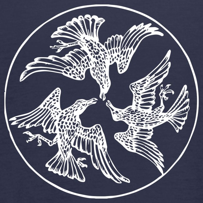 Three Crows in a Circle