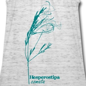 Needle and thread grass print - Women's Flowy Tank Top by Bella