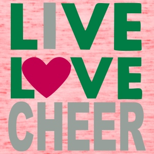 Live Love Cheer - Women's Flowy Tank Top by Bella