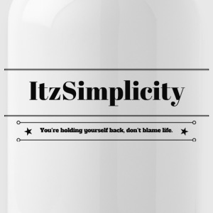 ItzSimplicity's Quote - Water Bottle