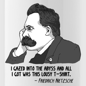 Nietzsche lousy Philosophy - Water Bottle