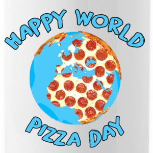 Happy World Pizza Day - Water Bottle