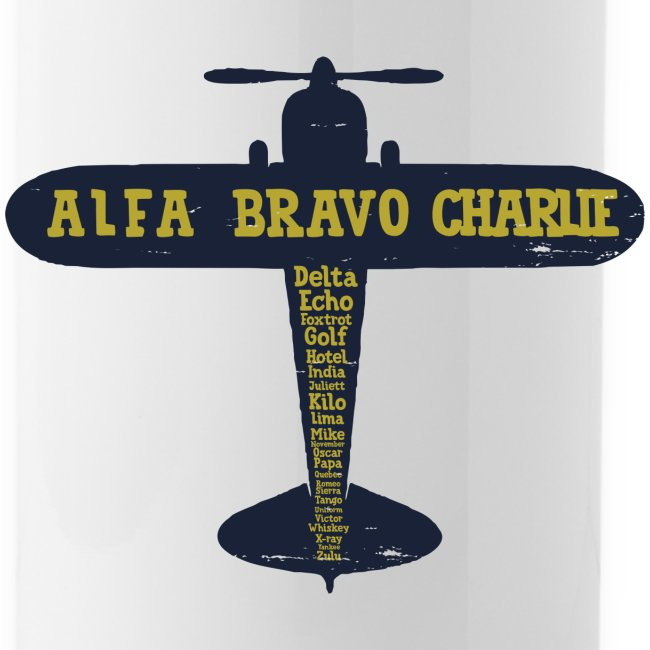 International Phonetic Alphabet Airplane