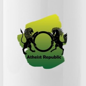 YellowGreenARLogo - Water Bottle