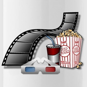 3D Movie Cinema - Water Bottle