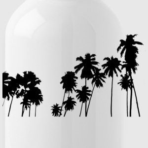 Palm trees - Water Bottle