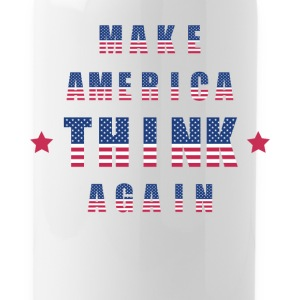 Make America Think Again - Water Bottle
