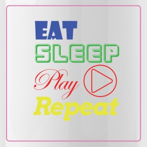 EAT, SLEEP, Play, Repeat - Water Bottle
