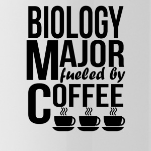 Biology Major Fueled By Coffee - Water Bottle
