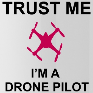 Trust me, I'm a drone pilot - Water Bottle