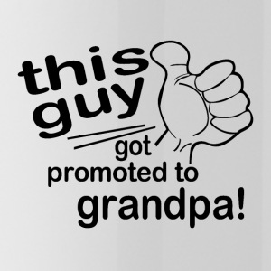Promoted to Grandpa - Water Bottle
