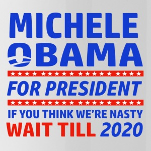 Michelle Obama 2020 designs - Water Bottle