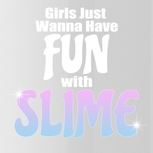 Girls Just Wanna Have Fun With Slime - Water Bottle